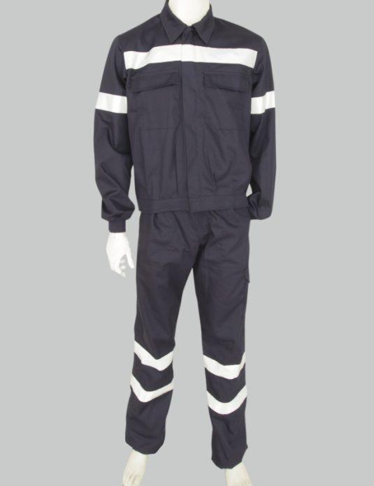 uniforme trabajo seguridad industria amica chaqueta pantalón
