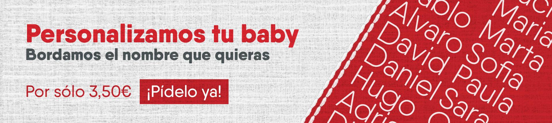 personalizamos tu baby con el nombre que tú quieras amica
