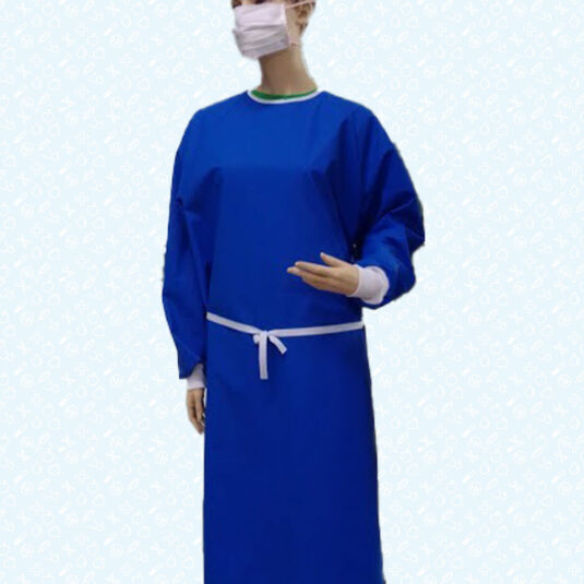 Bata higiénica Crib Azul